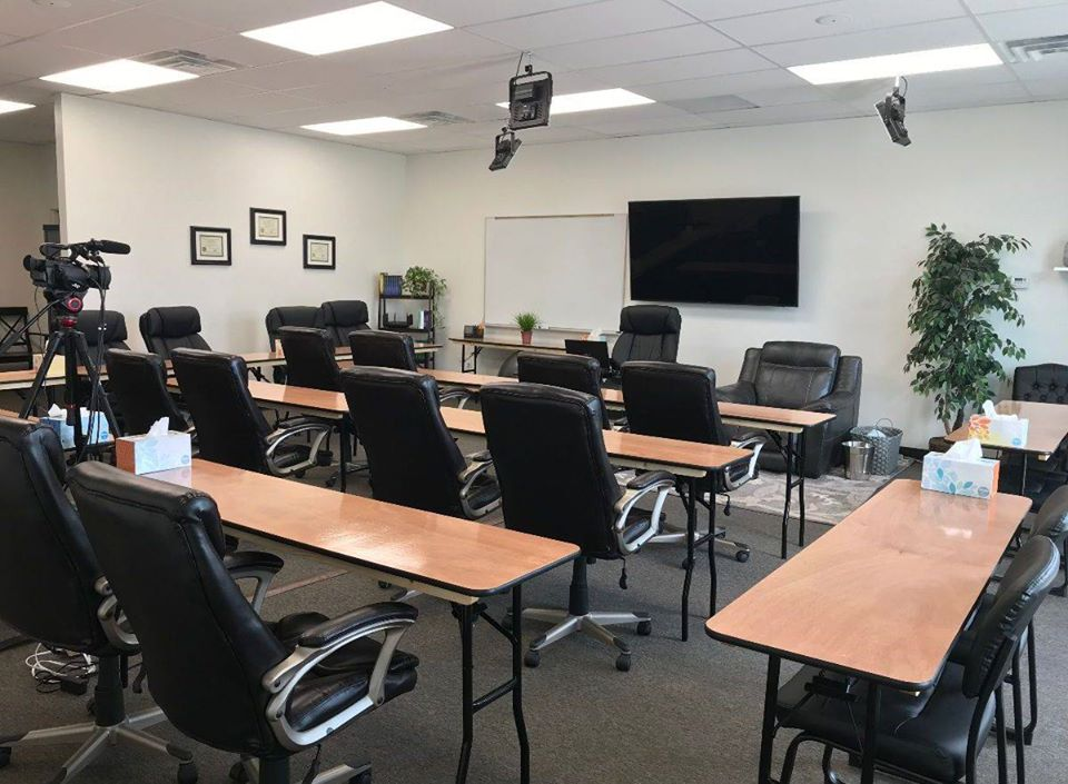 Certified Hypnotherapy Training School Classroom