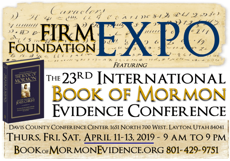 2019 - Firm Foundation Conference